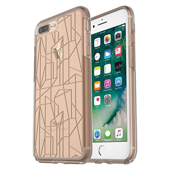 the latest 774cd a36bc OtterBox SYMMETRY CLEAR SERIES Case for iPhone 8 Plus & iPhone 7 Plus  (ONLY) - Retail Packaging - Drop Me a Line