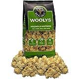 Grill Republic Original Woolys Hochwertige Grillanzünder mit langer Brenndauer Anzünder aus ökologischer Holzwolle und Wachs für Grill, Kamin und Ofen | 2,5 kg