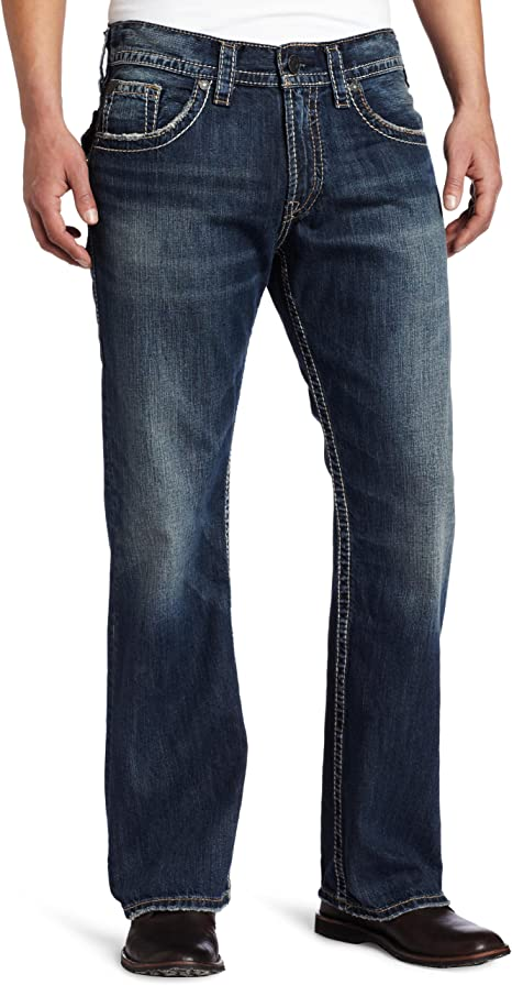 Silver Jeans Co Mens Zac Jean