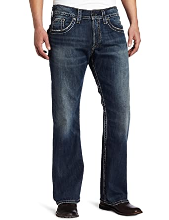 Silver Jeans Men's Zac Flap Jean at Amazon Men's Clothing store ...