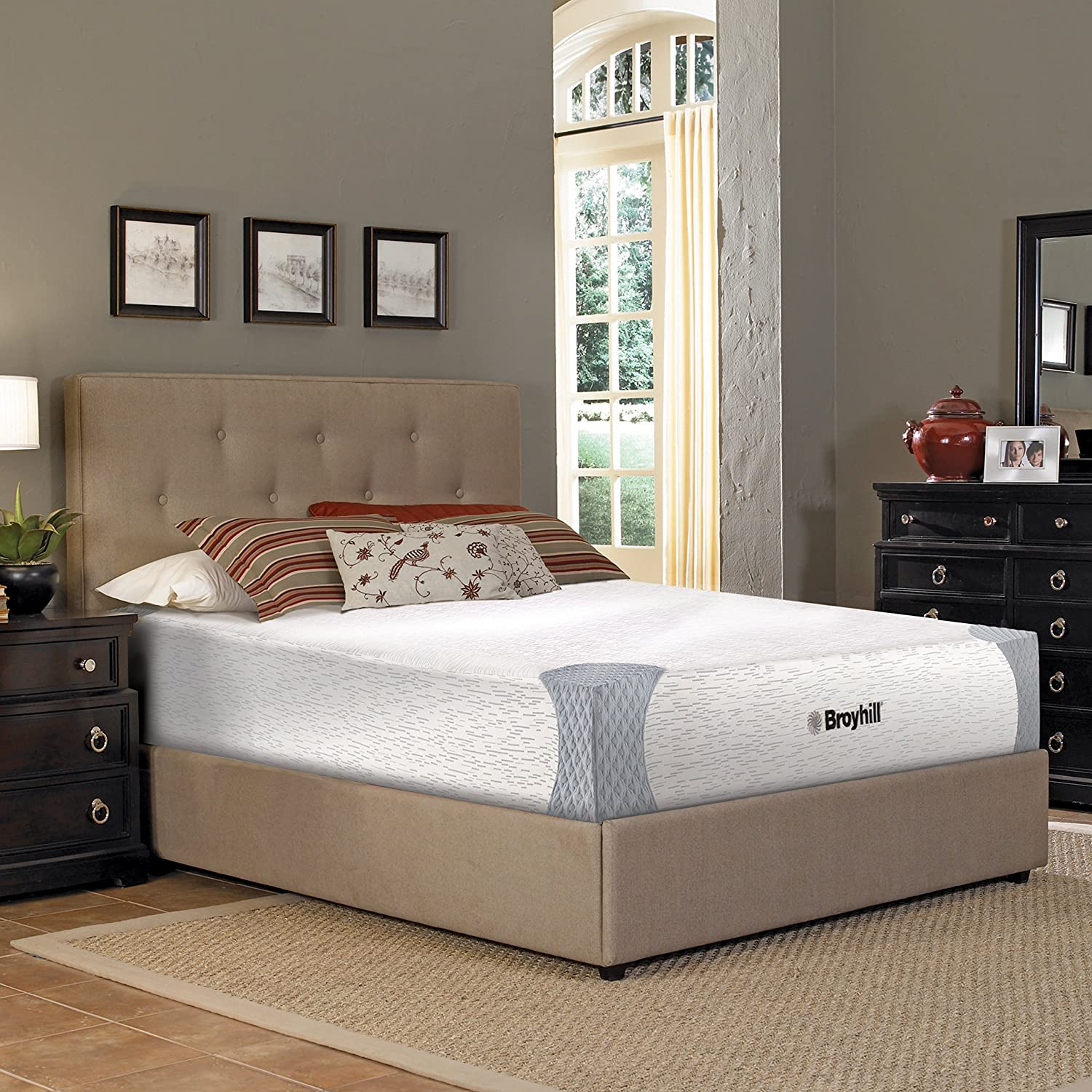 Broyhill Sensura Memory Foam Mattress with Cooling GelFlex Foam, 10 Twin