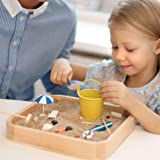 Kenley Mini Sandbox for Desk - Miniature Beach
