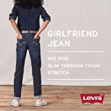 Levi's Girls' Big Girlfriend Fit Jeans, Nirvana, 16
