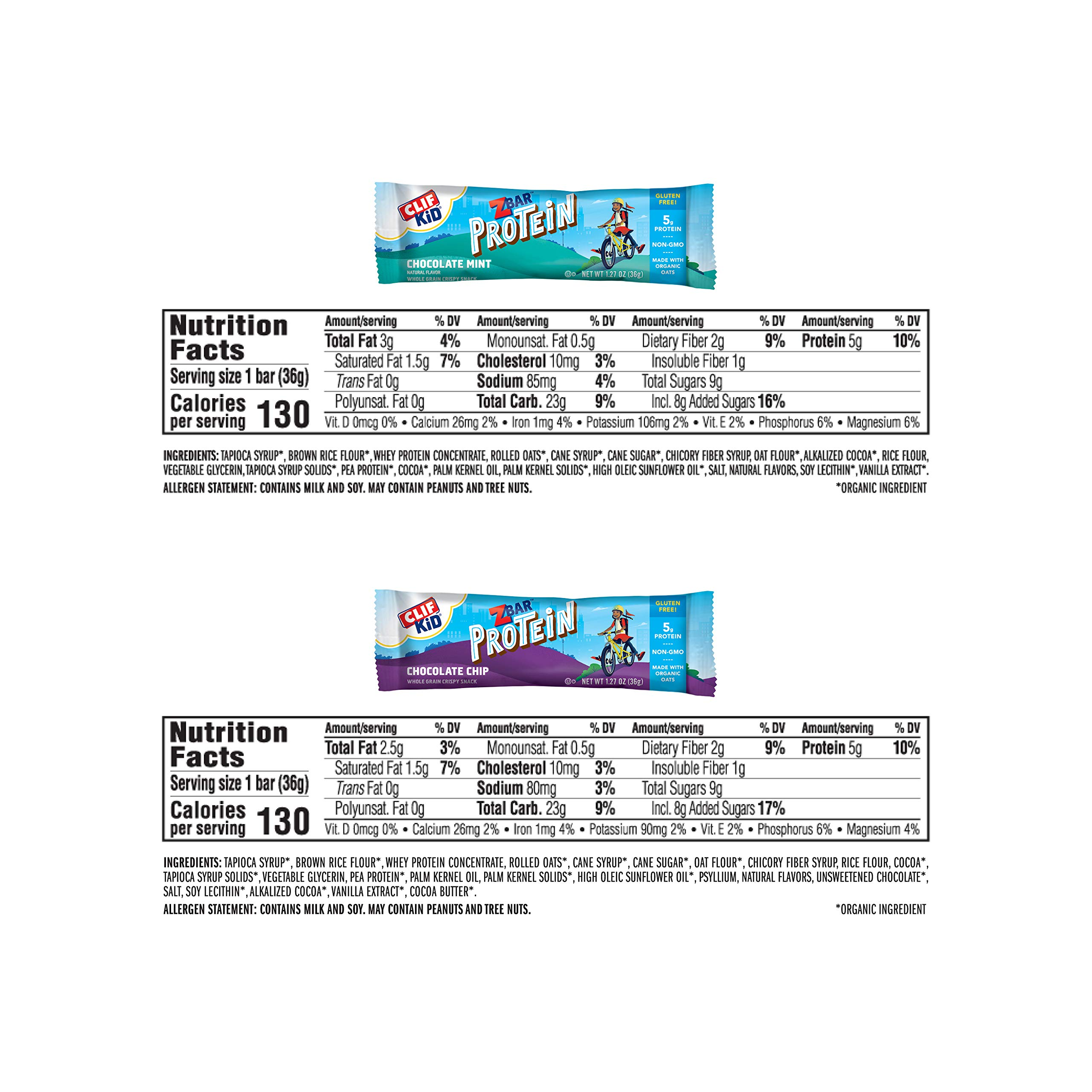 Clif Kid ZBAR - Organic Energy Bars - Value Pack - (1.27 Ounce Snack Bars, 36 Count) by Clif Bar (Image #6)