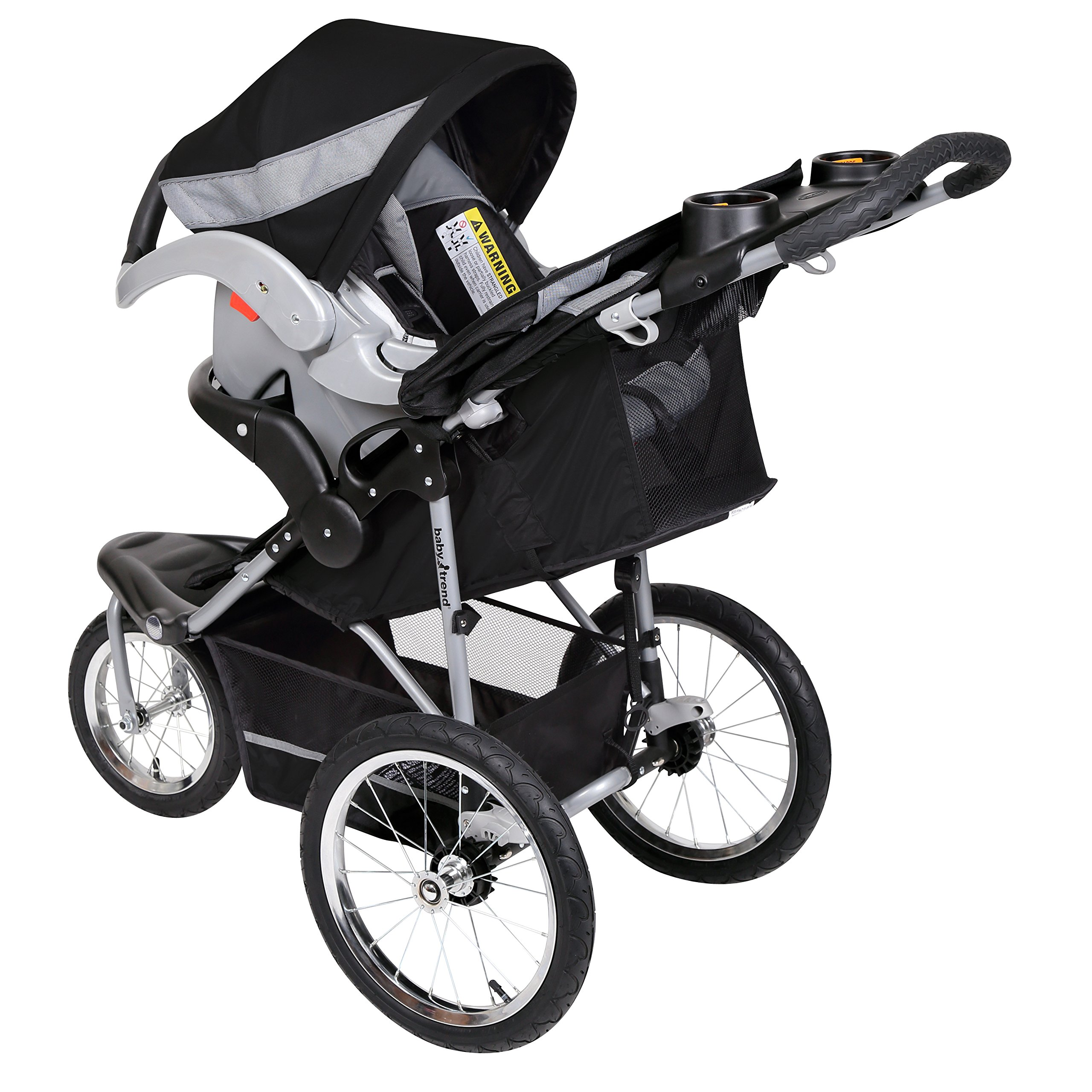 Baby Trend Expedition Jogger Travel System, Millennium White by Baby Trend (Image #3)