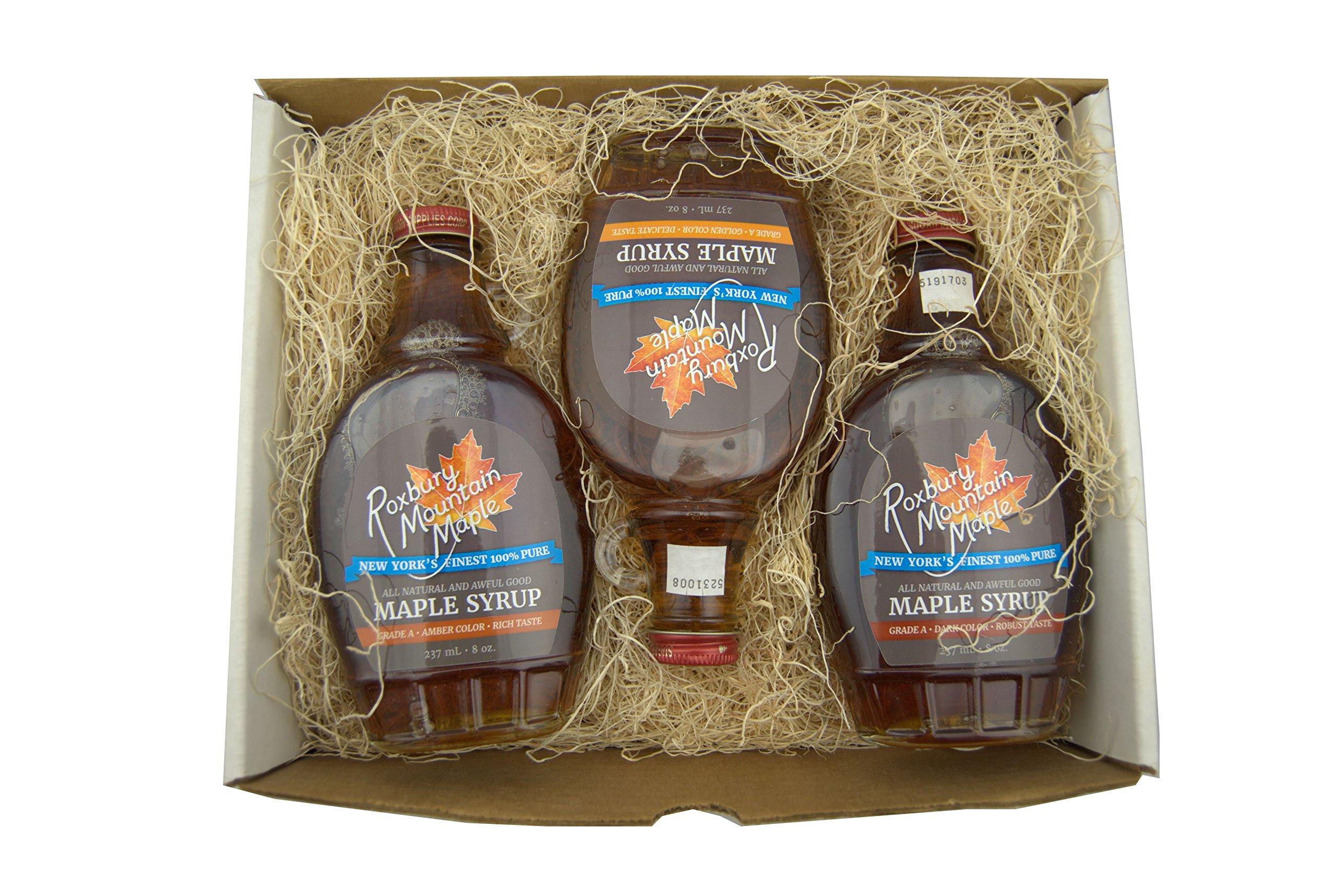 (#1) Maple Lover's Sampler Gift Box, Roxbury Mountain Maple