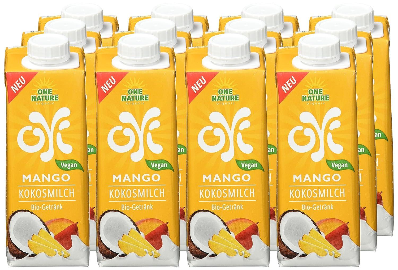 ONE NATURE organic OYI Mango Kokosmilch Bio-Getränk, 12er Pack (12 x ...