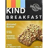 KIND Breakfast Bar, Almond Butter, Gluten Free, Non GMO, 50 Grams, 4 Count