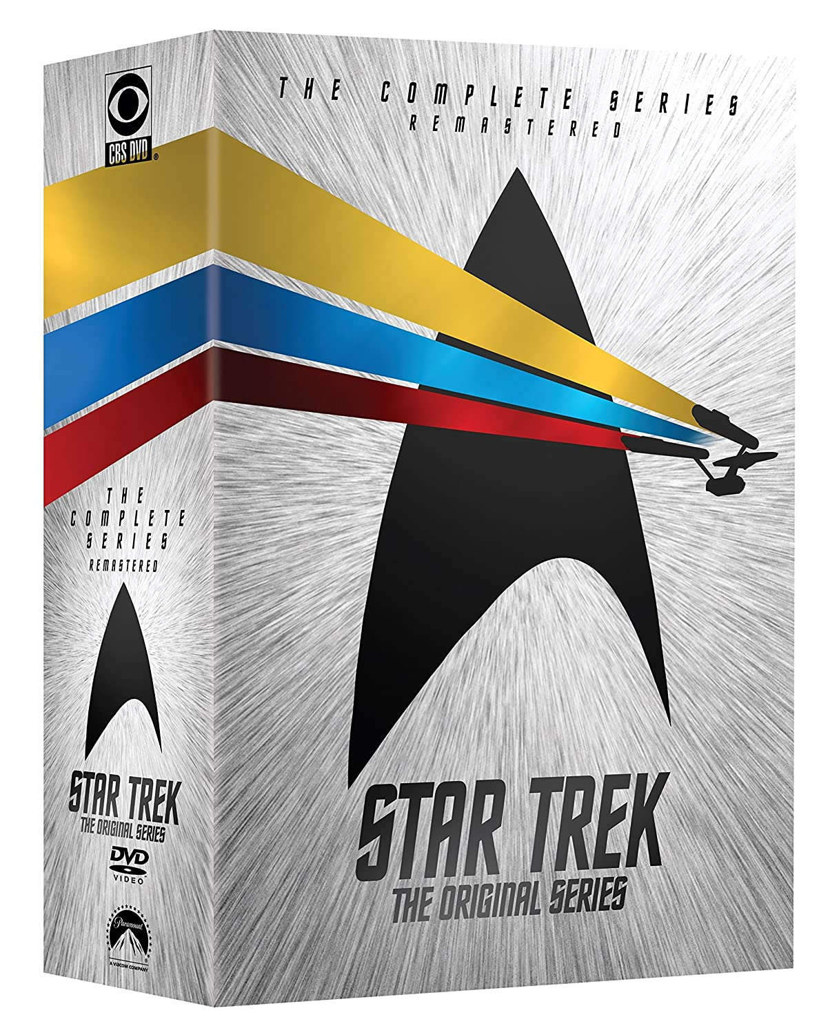 Amazon.com: Star Trek: The Original Series - The Complete Series: Leonard  Nimoy, William Shatner, DeForest Kelley, Nichelle Nichols, James Doohan, ...
