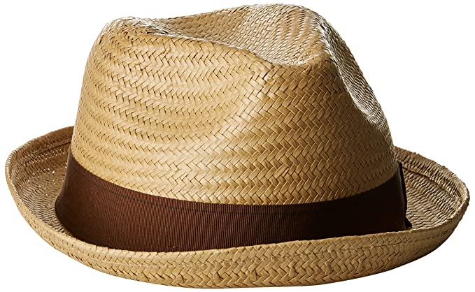 af736563cc9 Brixton Castor Straw Fedora  Amazon.in  Clothing   Accessories