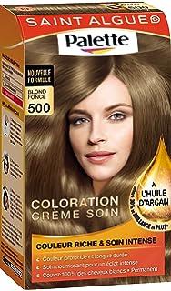 saint algue palette coloration permanente blond fonc 500 - Coloration Saint Algue