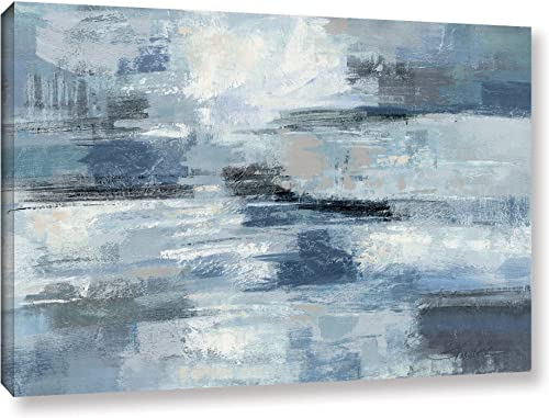 The ArtWall Silvia Vassileva Clear Water Indigo Gallery-Wrapped, 8 x 12