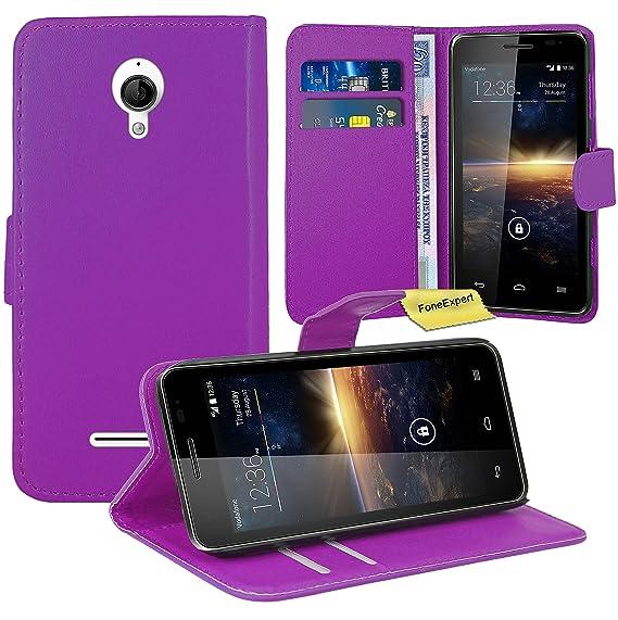 Amazon.com: Vodafone Smart 4 Turbo Case, FoneExpert Premium Leather Flip Bag Wallet Case Cover For Vodafone Smart 4 Turbo: Cell Phones & Accessories