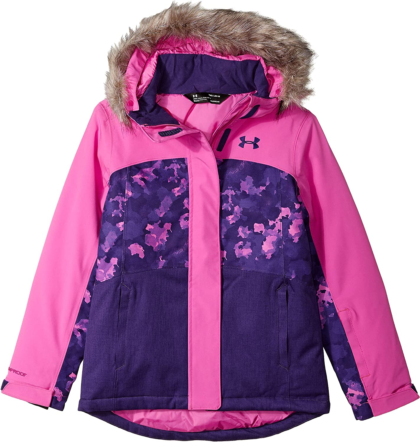 Encogimiento paso toxicidad  Amazon.com: Under Armour Baby Girls' Big ColdGear Max Altitude Ski Jacket:  Clothing