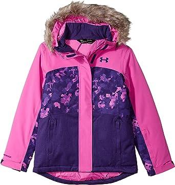 Feudo portátil raspador  Amazon.com: Under Armour Baby Girls' Big ColdGear Max Altitude Ski Jacket:  Clothing