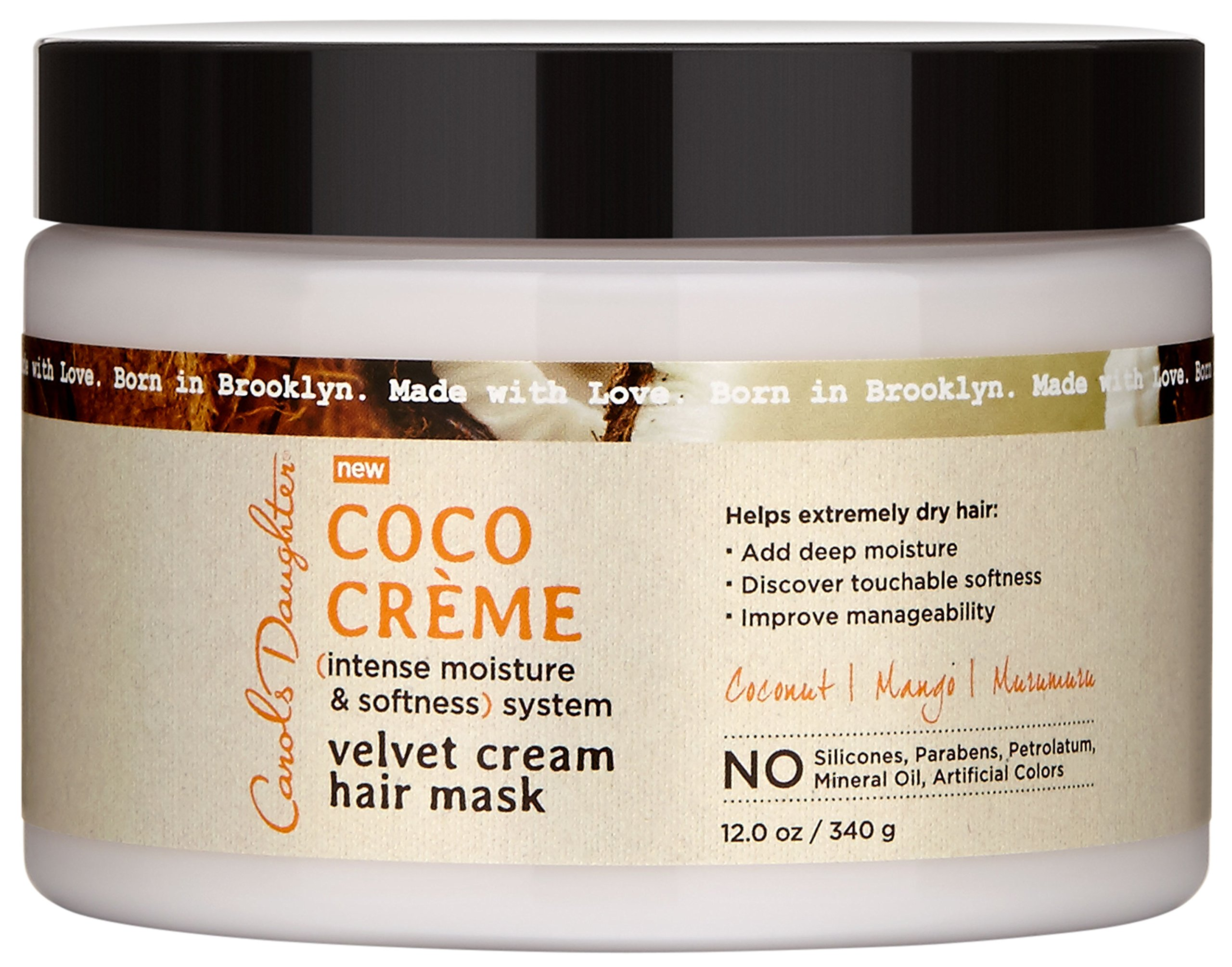 Carols Daughter Coco Creme Velvet Cream Hair Mask, 12 Ounce