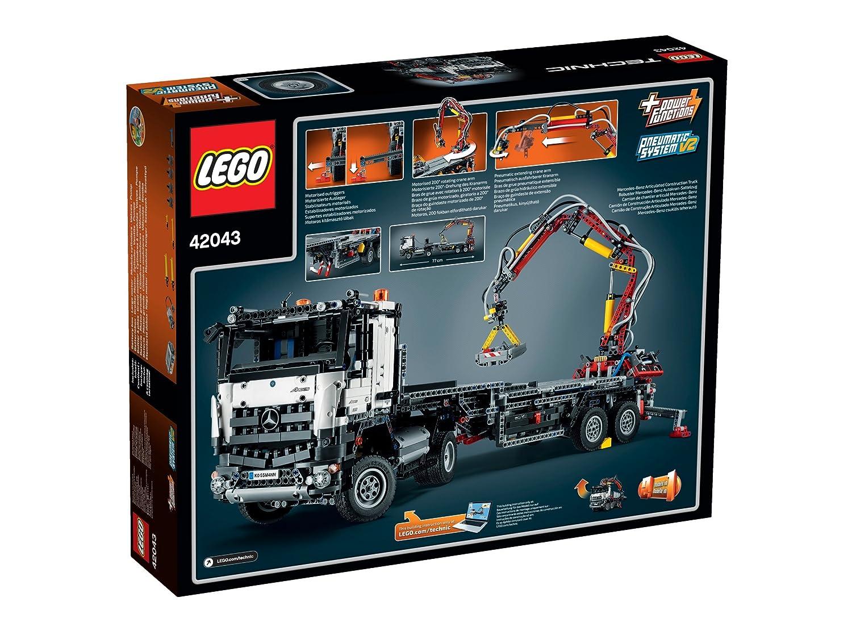 LEGO Technic 42043 - Mercedes-Benz Arocs 3245, Auto-Spielzeug ...