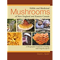 Edible and Medicinal Mushrooms of New England and Eastern Canada: A Photographic Guidebook to Finding and Using Key…