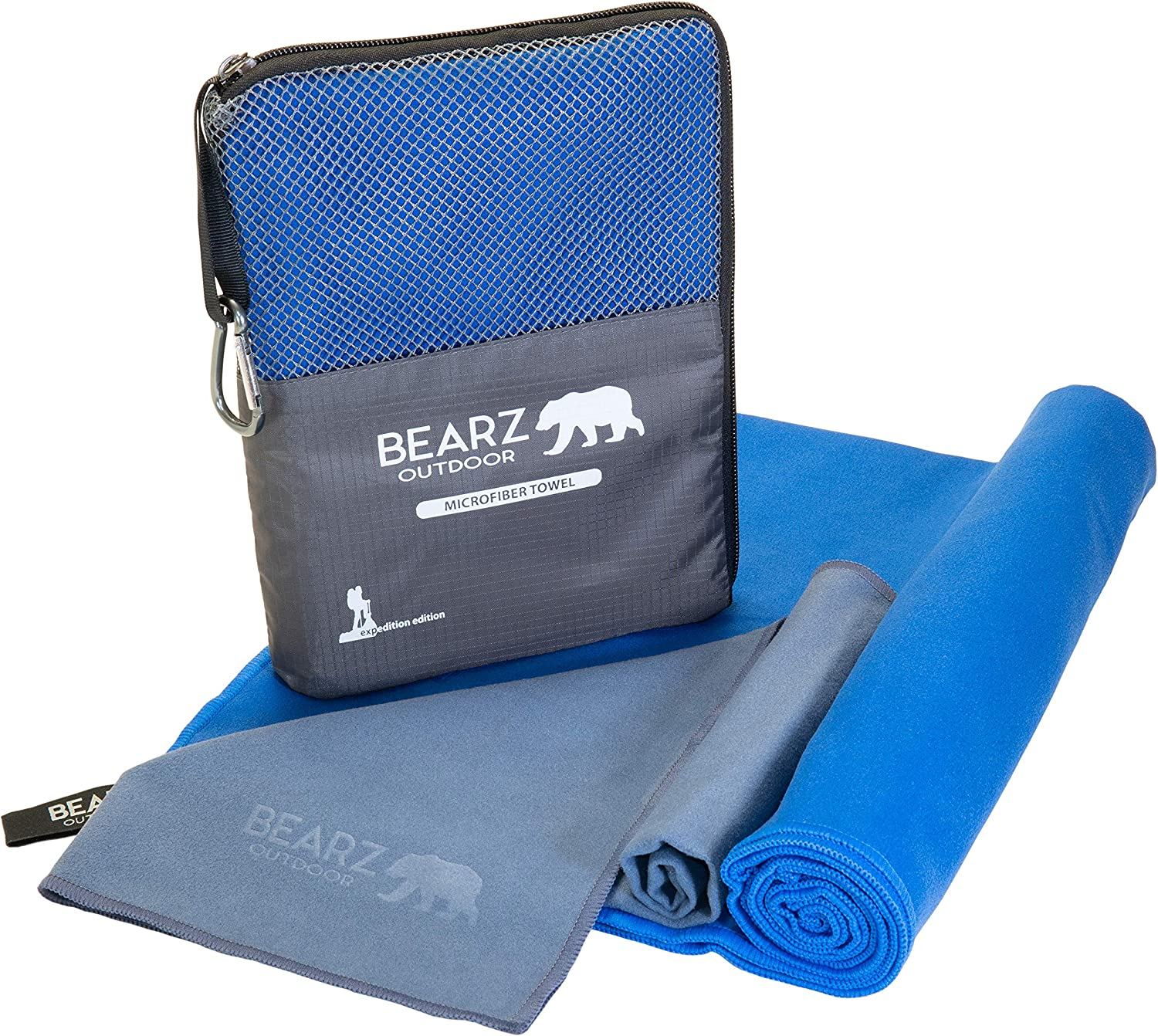 BEARZ Outdoor Quick Dry Camping Towel Standard Set