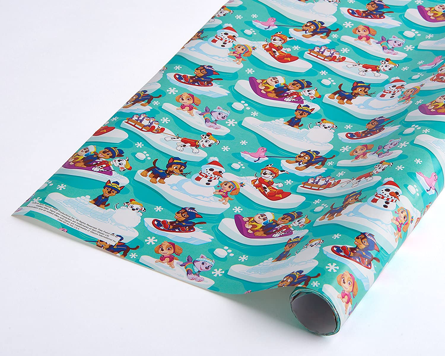 Buy American Greetings 5677209 Paw Patrol Christmas Wrapping Paper