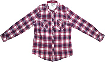 BC Clothing Womens Sherpa Lined Plaid Flannel Shirt Jacket