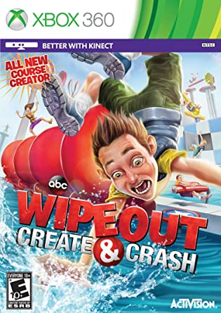 Wipeout: Create & Crash: Xbox 360 Kinect: Amazon co uk: PC