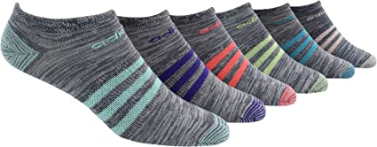 TALLA Women's Sock size (5-10). adidas Calcetines Superlite Super No Show para Mujer (6 Pares)