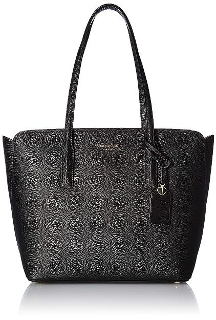 654132216f Amazon.com: Kate Spade New York Women's Margaux Medium Tote, Black ...