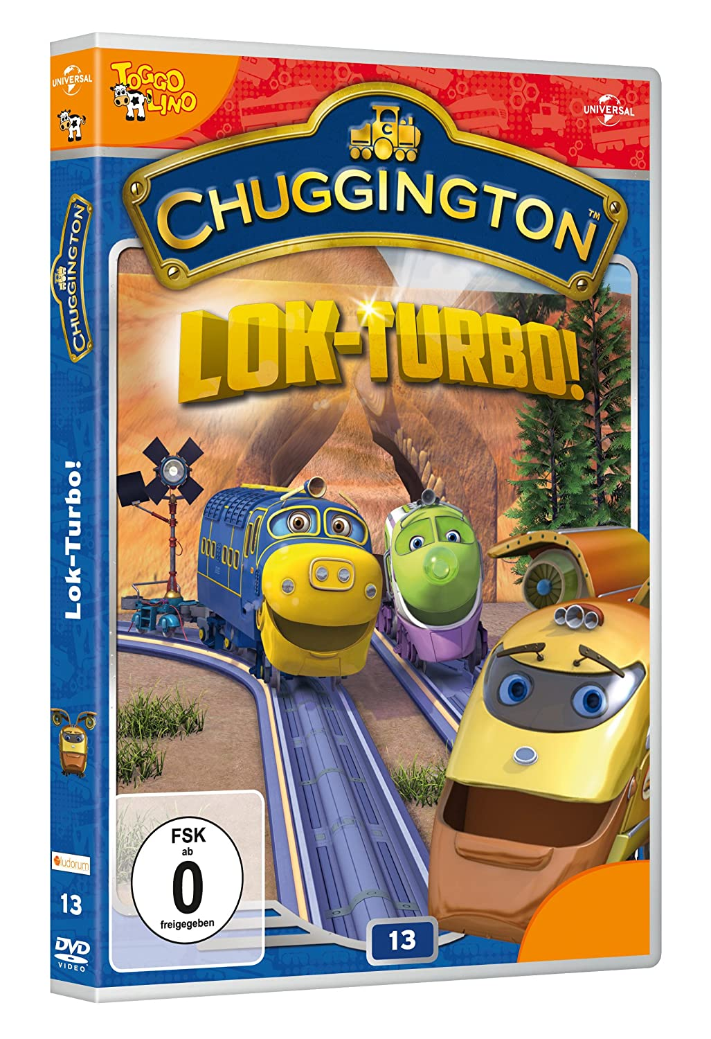 Chuggington 13 - Lock Turbo [Alemania] [DVD]: Amazon.es: Sarah Ball: Cine y Series TV