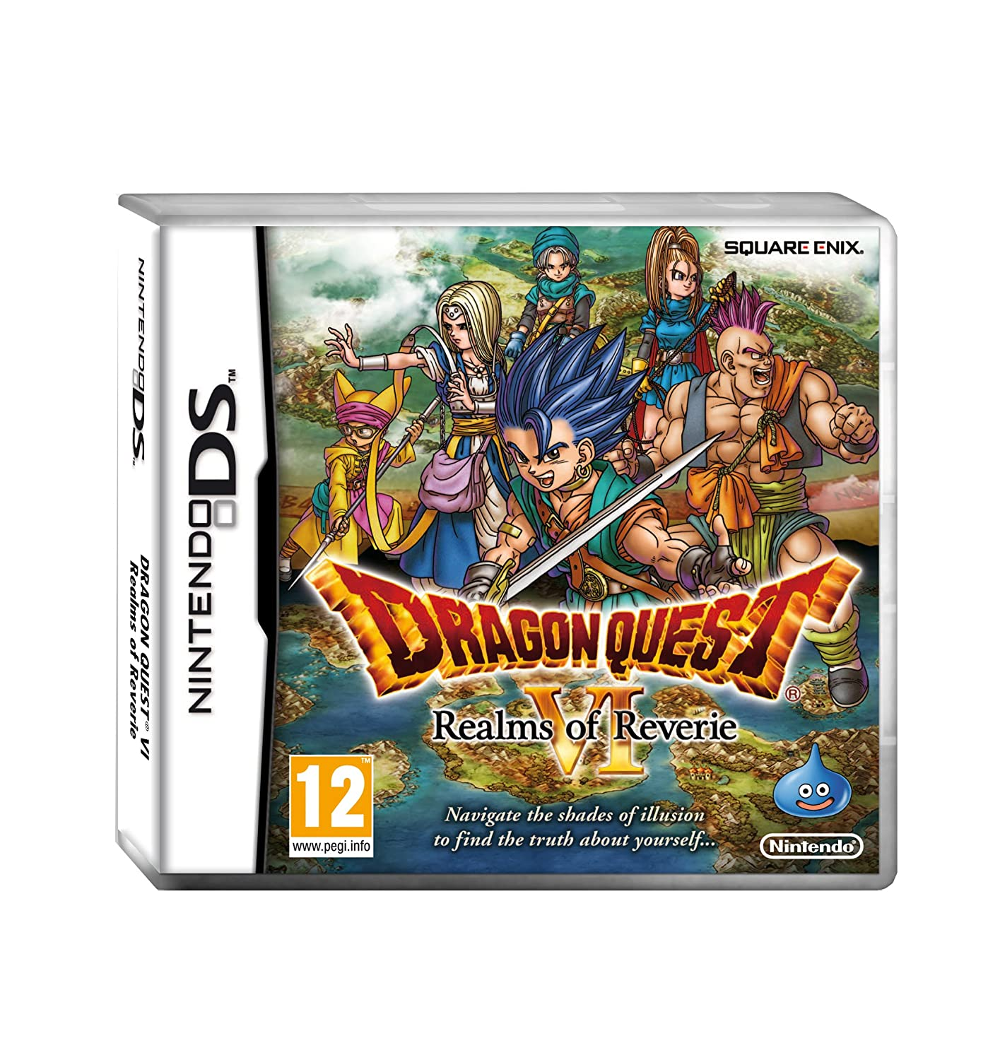 dragon quest v nds rom