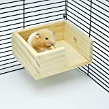 Niteangel Wooden Hamster Mouse Small Animals Lookout Platform