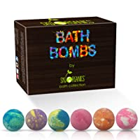 Bath Bombs Gift Set, 6 x 5 Oz Huge Bath Bombs Kit, Best for Aromatherapy, Relaxation...