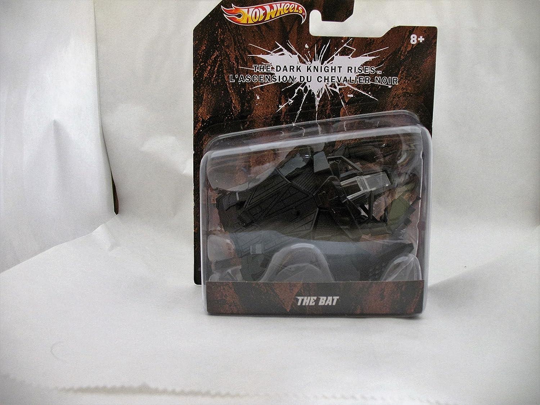 Hot Wheels 2011 The Dark Knight Rises The Bat X0553 1:50 Scale Mattel