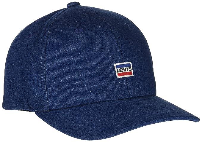 Levis Mini Sportwear Logo Flexfit Denim Gorra, Azul (Light Blue ...