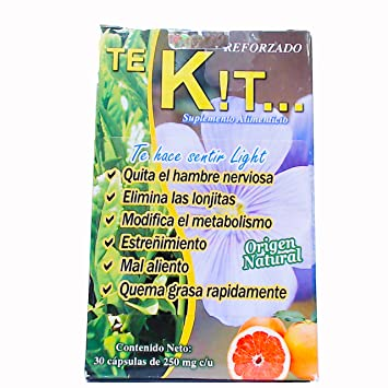 Te Kito Kilos maximum strength fat loss formula