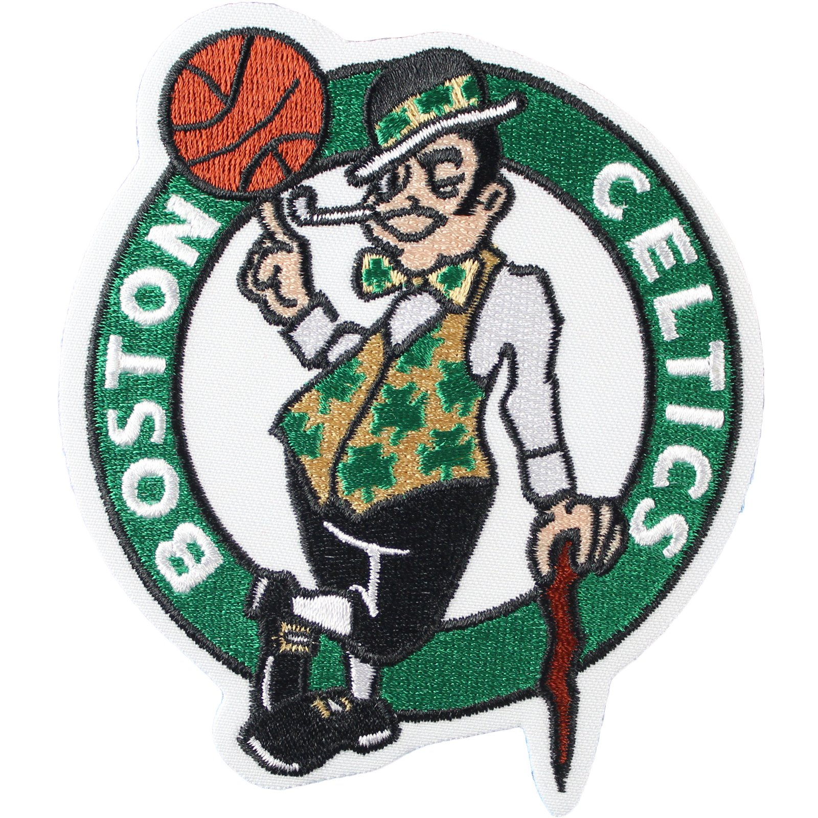 Official Boston Celtics Logo Large Sticker Iron On NBA Basketball Patch Emblem