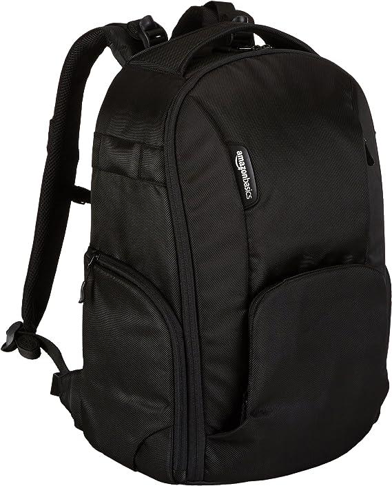 AmazonBasics DSLR Camera and Laptop Backpack Bag - 19 x 9 x 14 Inches