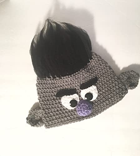 Amazon.com  Crochet Troll Hat for Kids  Handmade 5e4b2fe1ebe