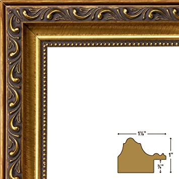 craig frames ancien ornate antique gold picture frame 11 by 14 inch