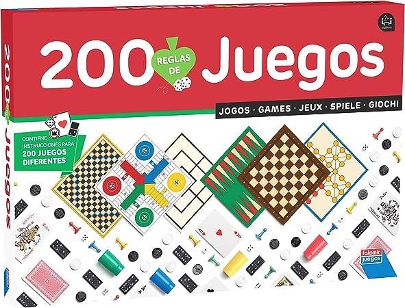 Falomir-200 200 Juegos Reunidos (1310) , color/modelo surtido: Amazon.es: Juguetes y juegos