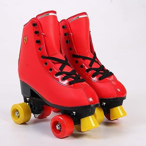 Size 37 Yellow Ferrari Classic Roller Skates