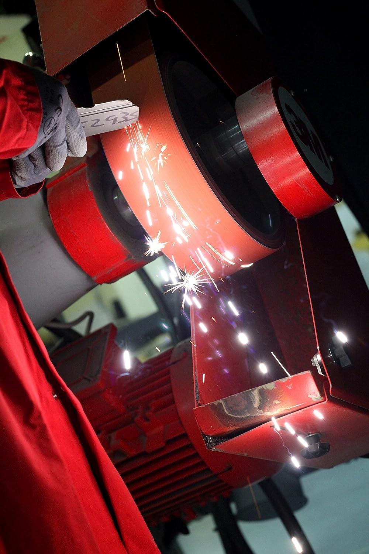 4 Width x 132 Length Pack of 25 36 Grit Wet//Dry Precision Shaped Ceramic Grain 3M Cubitron II Cloth Belt 984F