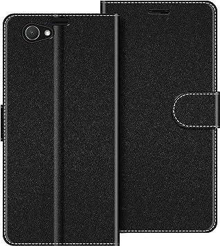 COODIO Funda Sony Xperia Z1 Compact con Tapa, Funda Movil Sony ...