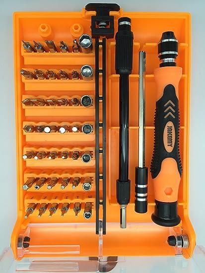 new 45 in 1 cr v precision torx screwdriver repair kit opening tools rh uedata amazon com Hand Tool Storage Rack Hand Tool Storage Ideas