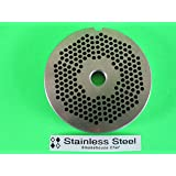 "#22 x 1/8"" STAINLESS STEEL Meat Grinder plate disc for Hobart LEM Cabelas Universal MTN & others"