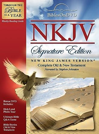 Amazon com: New King James Version Signature Edition Bible