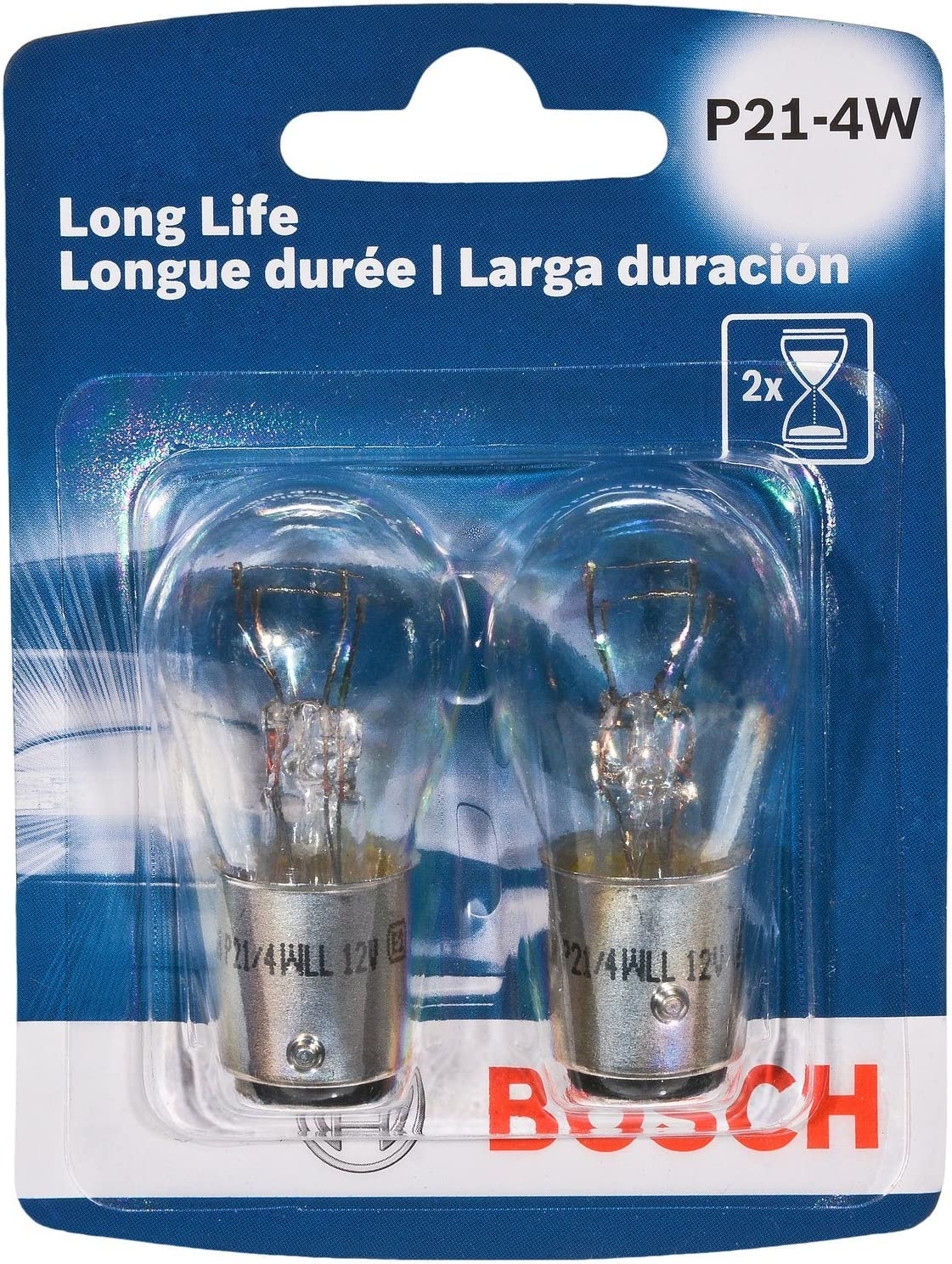 Bosch P214W Long Life Upgrade Minature Bulb, Pack of 2