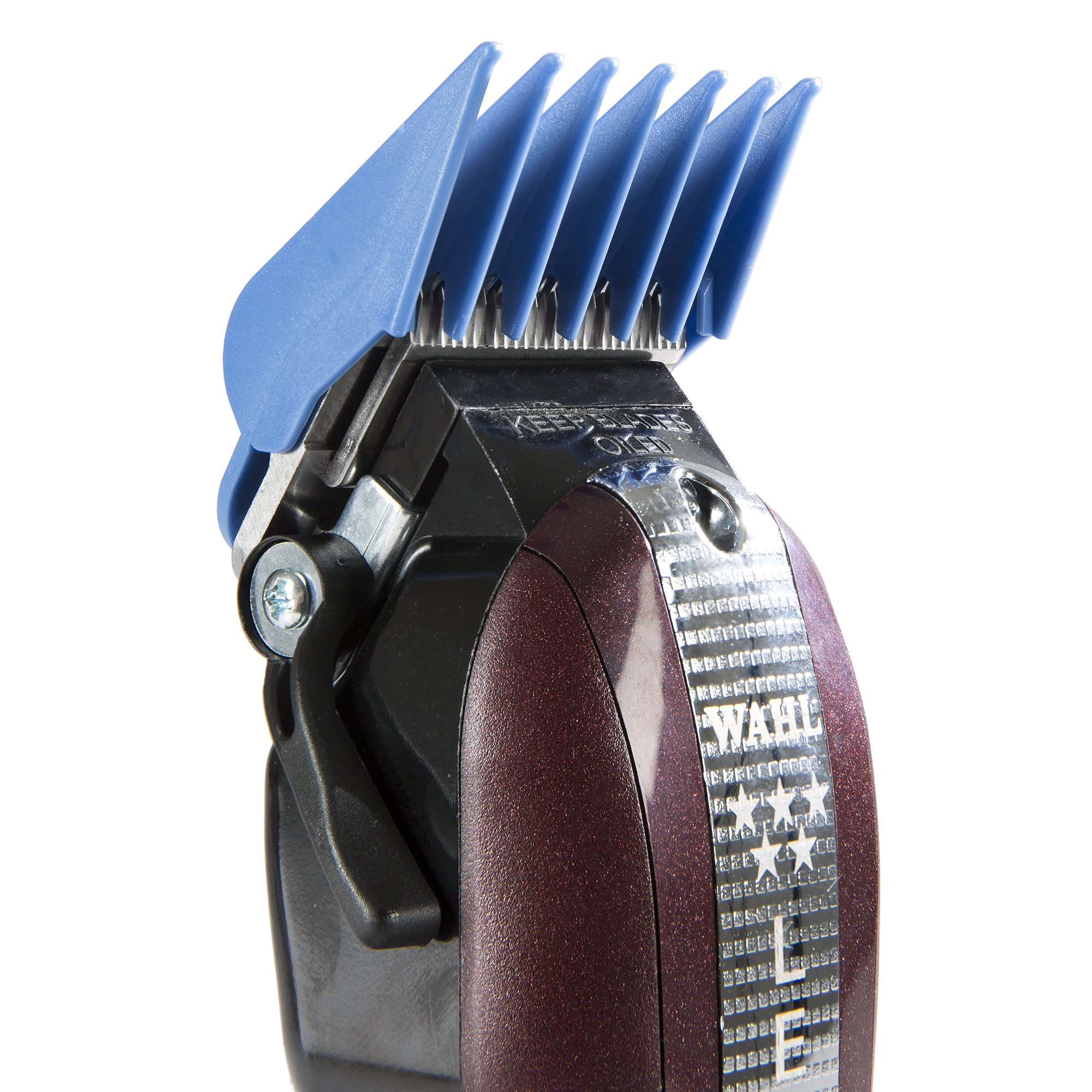 """Wahl Professional 8 Color Coded Cutting Guides with Organizer #3170-400 – Great for Professional Stylists and Barbers – Cutting Lengths from 1/8"""" to 1 by Wahl Professional (Image #7)"""