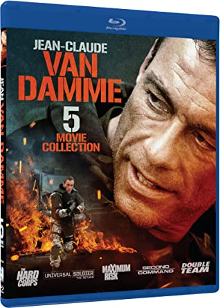 Jean Claude Van Damme 5 Movie Collection Hard Corps Double