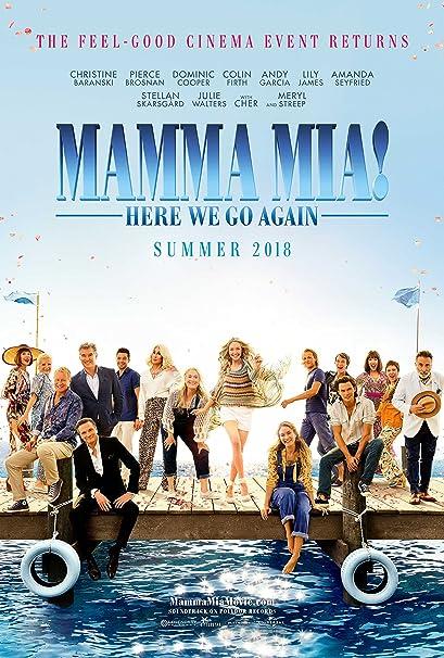 a75ae3c1c59d1 Amazon.com   Mamma Mia! Here We Go Again Movie Poster Limited Print ...